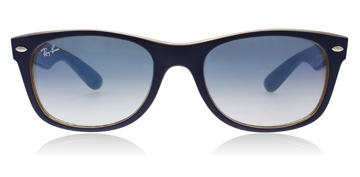 Ray-Ban RB2132 Matte Blue / Opal Brown