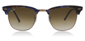 Ray-Ban RB3016  Spotted Brown / Blue