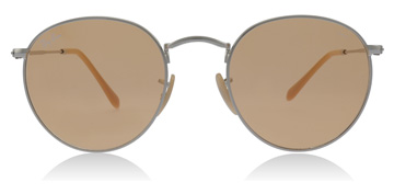 Ray-Ban Round Washed Evolve Silver