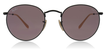 Ray-Ban Round Washed Evolve Black