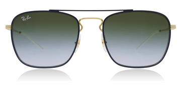 Ray-Ban RB3588 Gold / Blue