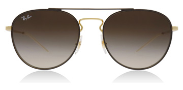 Ray-Ban RB3589 Gold / Brown