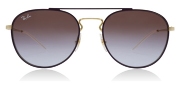 Ray-Ban RB3589 Gold / Violet