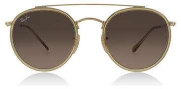 Ray-Ban RB3647N Gold / Yellow