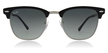 Ray-Ban Clubmaster Silver / Black