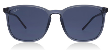 Ray-Ban RB4387 Transparent Blue