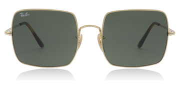 Ray-Ban Square 1971 Classic Shiny Gold