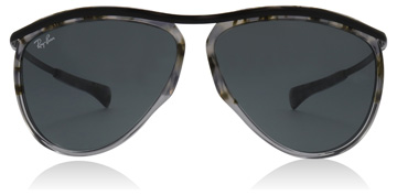 Ray-Ban Olympian Aviator Gradient Havana Grey