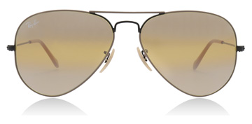 Ray-Ban Aviator Black / Beige