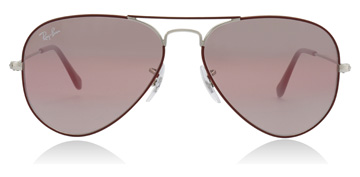 Ray-Ban RB3025 Silver / Bordeaux