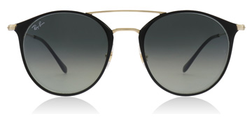 Ray-Ban RB3546 Gold Top Black