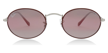 Ray-Ban RB3547N Silver / Bordeaux
