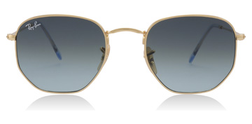 Ray-Ban Hexagonal Gold