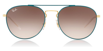 Ray-Ban RB3589 Gold / Green