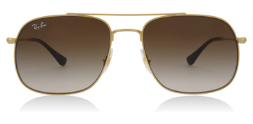 Ray-Ban Andrea Rubber Gold