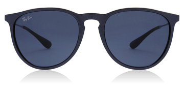 Ray-Ban Erika Metallic Violet / Black