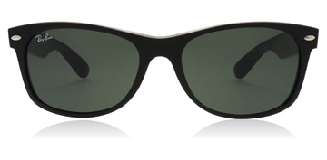 Ray-Ban New Wayfarer Rubber / Shiny Black
