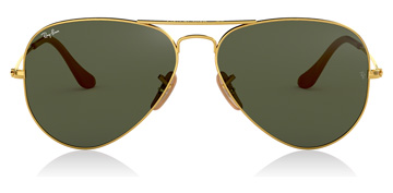 Ray-Ban Aviator Large Metal Gold