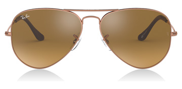 Ray-Ban Aviator Large Metal Copper