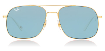 Ray-Ban RB3595 Gold