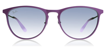 Ray-Ban Junior RJ9538S Age 8-12 Years Rubber Grey/ Pink