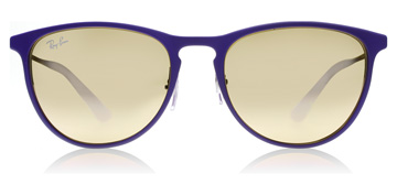 Ray-Ban Junior RJ9538S 8-12 Years Rubber Brown/Violet