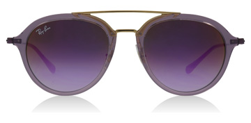 Ray-Ban Junior RJ9065S Age 8-12 Years Transparent Violet