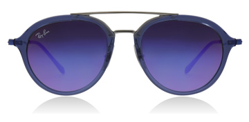 Ray-Ban Junior RJ9065S Age 8-12 Years Transparent Blue