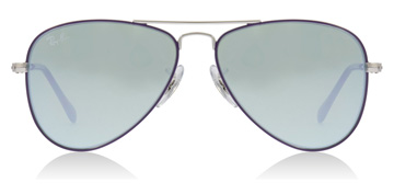 Ray-Ban Junior RJ9506S Age 4-8 Years Silver / Violet