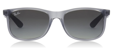 Ray-Ban Junior RJ9062S Age 12-15 Years Transparent Blue
