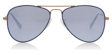 Ray-Ban Junior RJ9506S Age 4-8 Years COPPER/ BLUE