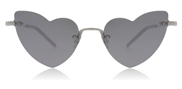 Saint Laurent Lou Lou Silver
