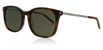 Saint Laurent SL111 Shiny Light Havana