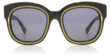 Stella McCartney SC0041S Shiny Black / Gold