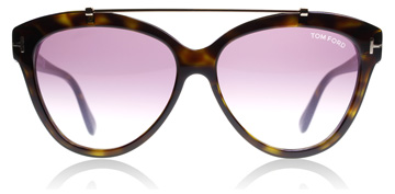 Tom Ford Livia Shiny Dark Havana