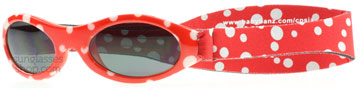 Baby Banz Adventure 0-2 Years Red Dot