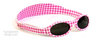 Baby Banz Adventure 0-2 Years Pink Gingham