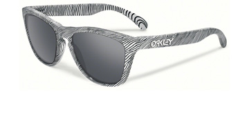 Oakley Frogskins Fingerprint Polished White