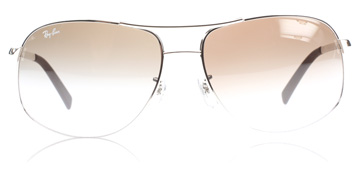 Ray-Ban RB3387 Silver