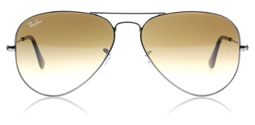Ray-Ban 3025 Aviator Gunmetal 004/51 Medium 58mm
