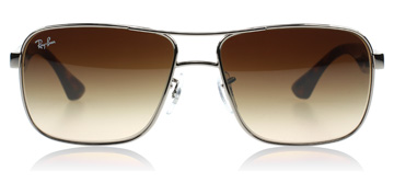 Ray-Ban RB3516 Silver / Tortoise
