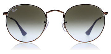 Ray-Ban RB3447 Shiny Dark Bronze