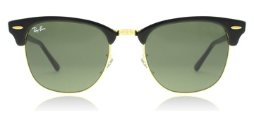 Ray-Ban Clubmaster Black / Gold