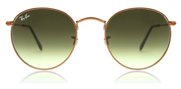 Ray-Ban RB3447 Shiny Medium Bronze