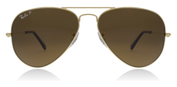 Ray-Ban Aviator Crystal Brown