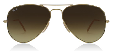 Ray-Ban RB3025 Matte Gold