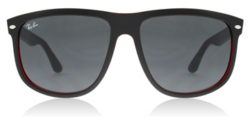 Ray-Ban RB4147 Matte Black / Red