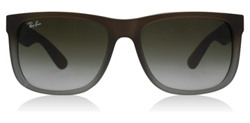 Ray-Ban Justin Rubber Brown / Grey