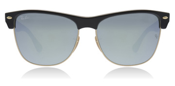 Ray-Ban Oversized Demi Shiny Black