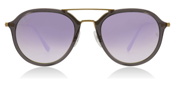 Ray-Ban RB4253 Gold / Crystal Grey